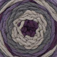 Bernat Blanket Stripes Knitting Yarn Wool 300g - 76026 EGGPLANT